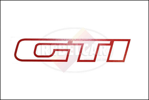Set de 4 stickers rouges de custodes pour 205 GTI 1.9