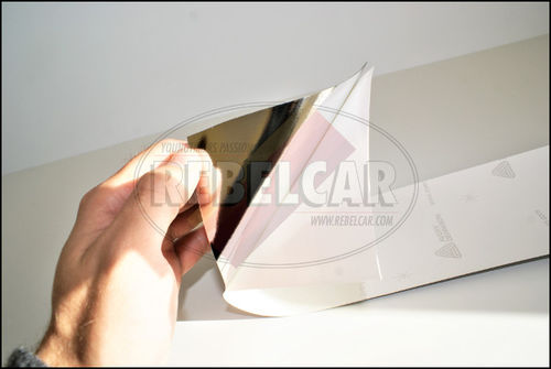 Set of black adhesive plates with silver gray characters (free format)