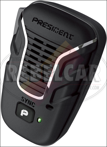Liberty Mic Pack - Wireless Microphone for PRESIDENT CB compatible radios