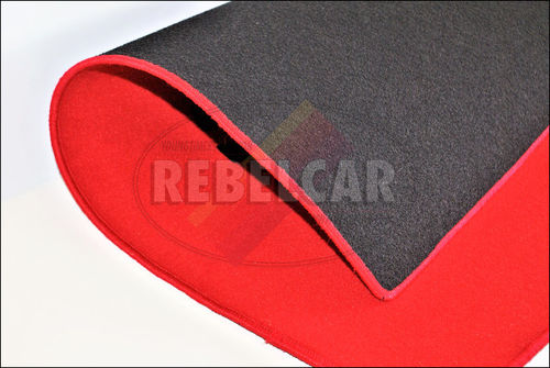 A set of floor mats with custom options for Peugeot 205 - made on demand, indicative making time from 5 to 8 weeks