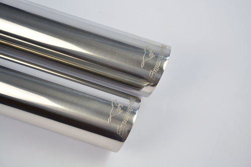 Racing 70mm double exhaust for BMW E36