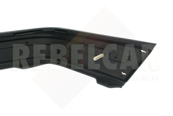 BLACK FRONT bumper WITH RED TRIM for Peugeot 205 GTI, including the 4 big screws