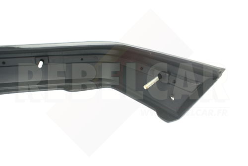LIGHT GREY REAR bumper WITH RED TRIM for Peugeot 205 GTI phase 1, including the 4 big screws