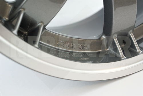 SL434/A ANTHRACITE PTS SPEEDLINE rim for Peugeot 106/205/306/309 and Citroën Saxo/ZX - shipping from REBELCAR, own stock