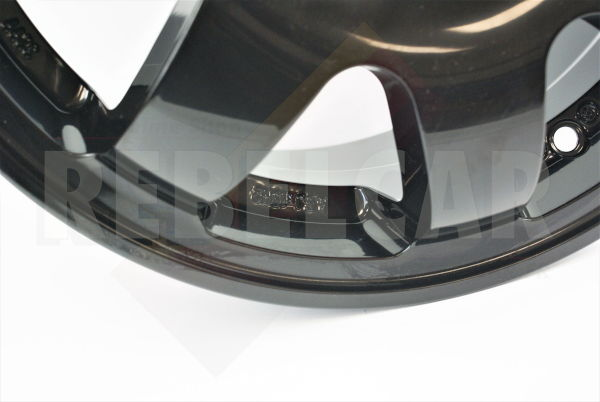 SL676/N1 BLACK SPEEDLINE rim - shipping ex works - supply time may vary and is not guarranteed