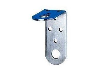 M-1 SIRIO stainless steel mounting bracket for 2-hole HF / VHF / UHF radio antenna diam. Ø 16 mm