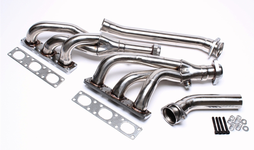 Stainless steel manifold for BMW E36 / E34 / E39 versions 520i, 525i and 528i 6 cylinders