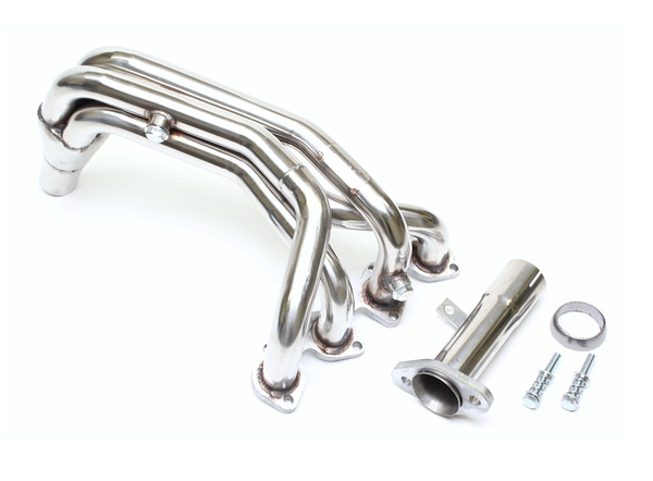 Stainless steel 4 in 1 manifold for Peugeot 106 8V phase 2 and Citroën Saxo 8V phase 2 - from 2000
