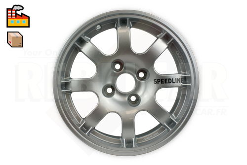 SL434  SILVER PTS SPEEDLINE rim for Peugeot 106/205/306/309 and Citroën Saxo/ZX