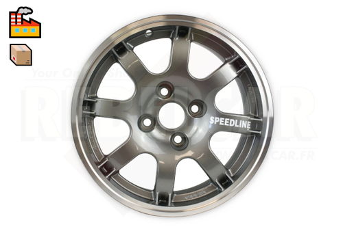 SL434/A ANTHRACITE PTS SPEEDLINE rim for Peugeot 106/205/306/309 and Citroën Saxo/ZX - shipping ex works - supply time may vary and is not guarranteed
