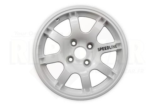 SL434/W1 WHITE PTS SPEEDLINE rim for Peugeot 106/205/306/309 and Citroën Saxo/ZX - shipping from REBELCAR, own stock