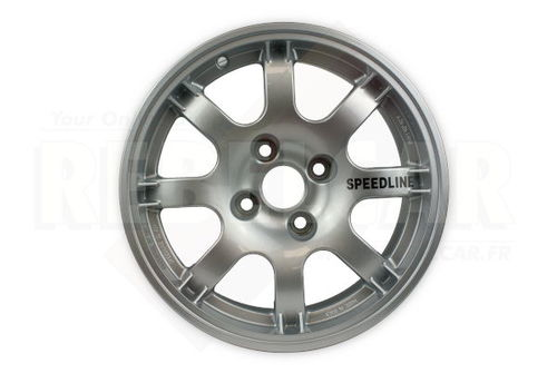 SL434  SILVER PTS SPEEDLINE rim for Peugeot 106/205/306/309 and Citroën Saxo/ZX - shipping from REBELCAR, own stock