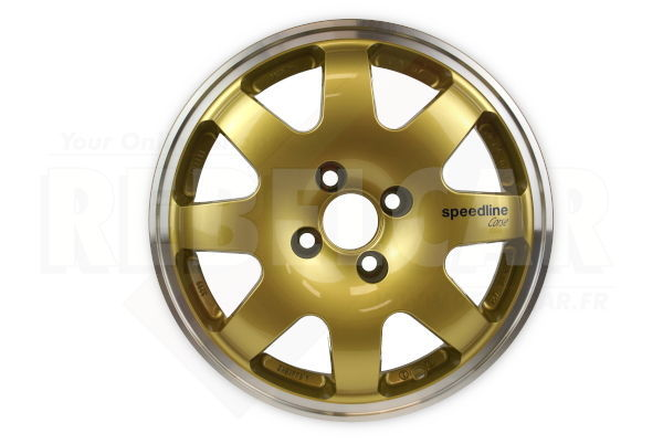 SL676/O1 GOLD SPEEDLINE rim - shipping ex works - supply time may vary and is not guarranteed