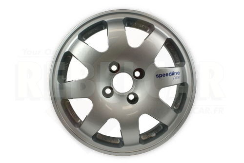 SL676 SILVER SPEEDLINE rim - shipping ex works - supply time may vary and is not guarranteed