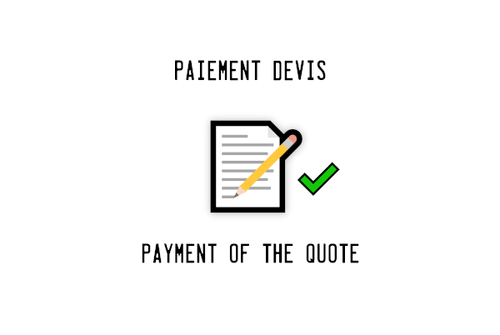 Payment of the quote 20210907D1 from 16-AUG-2021