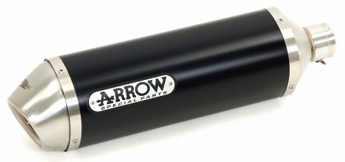 Silencieux Arrow Street Thunder Aluminium Dark