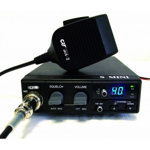 Radio CB CRT S-Mini V3 40 canaux AM/FM