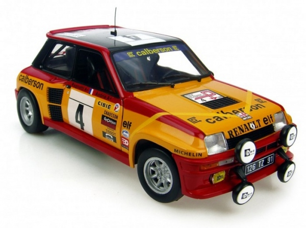 Miniature 1/18 Renault 5 Turbo #4 Tour de France