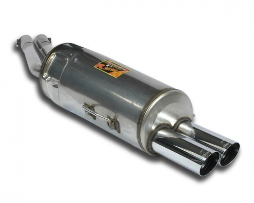 Rear silencer 76mm Supersprint for BMW E34 535i