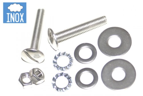 Kit de fixation inox pour supports US