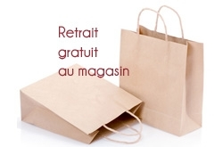 retrait au magasin