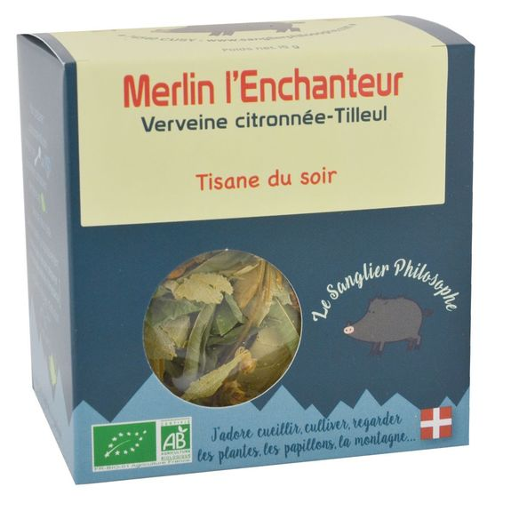 Tisane Merlin l'Enchanteur