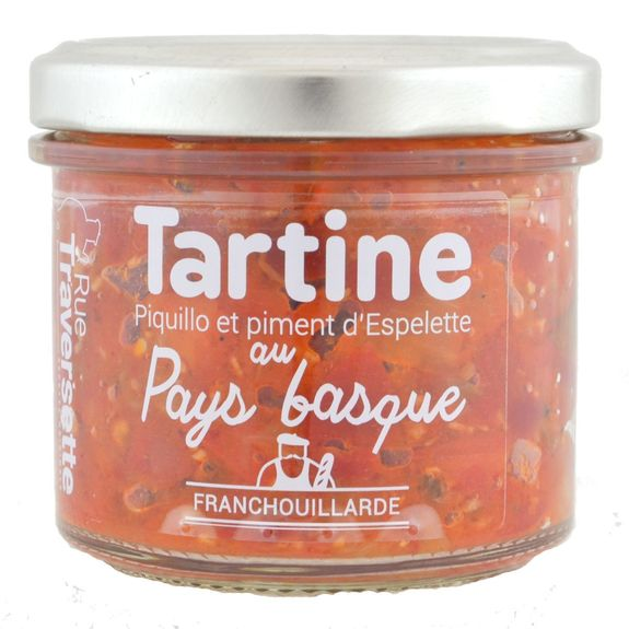 Tartine au Pays Basque, 110g