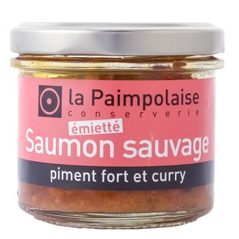 Emietté de saumon sauvage, piment fot et curry, 90g