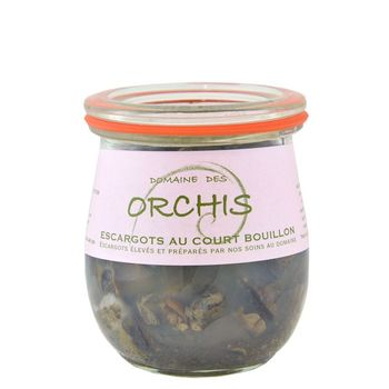 Escargots au court-bouillon, 120g