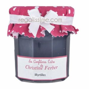 Confiture Christine Ferber Myrtilles