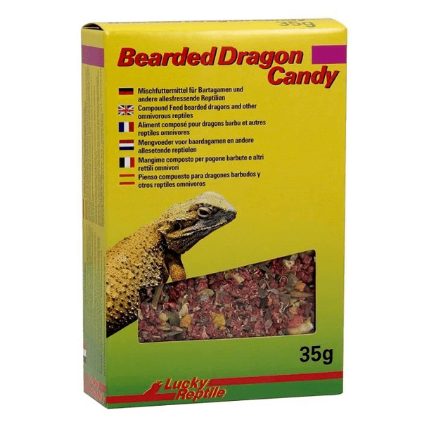 Bearded dragon candy 35 gr  11.20€