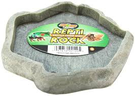 Repti rock food dish large  22x16cm 9.00€