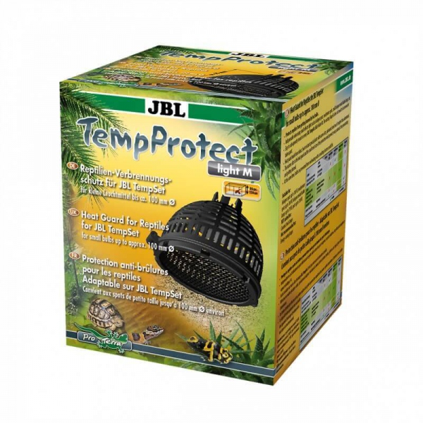 Support de lampe temprotect medium  de jbl 23.90€ grille de protection pour reptiles