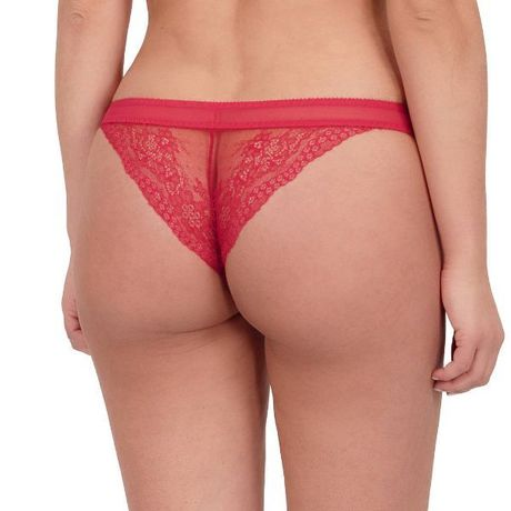 "String ""Flora - Rouge Tentation"" Empreinte"