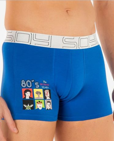 "Shorty ""Années 80"" Soy Underwear"
