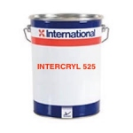 INTERCRYL 525 - Finition Acrylique sans COV - Teinte Vive - 14,65€/Litre