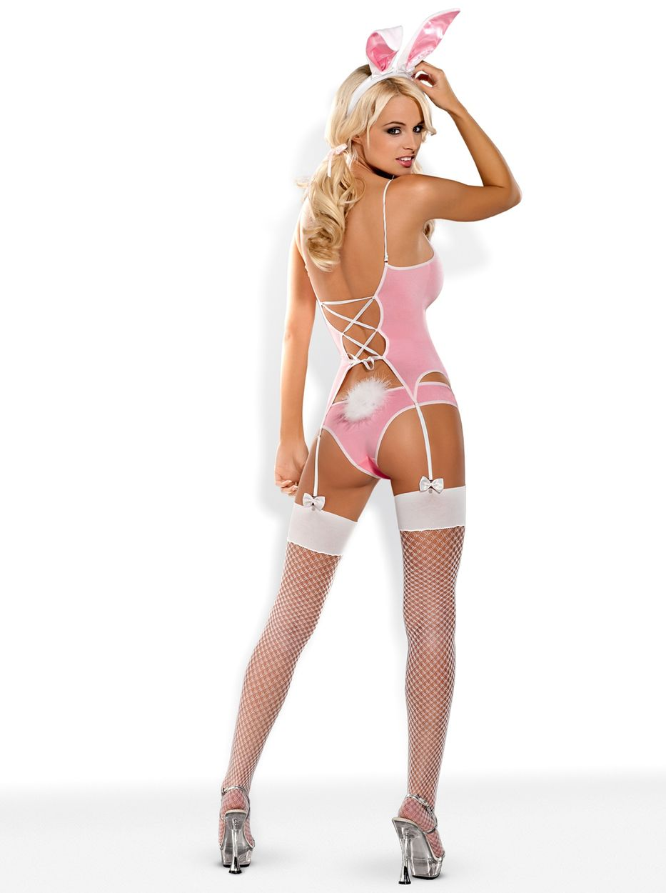 Costume Bunny Suit Hyper sexy 4 pièces