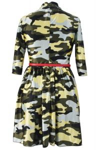 Robe militaire sexy