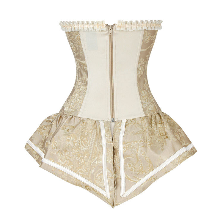Corset Bustier Style Royal Jacquard