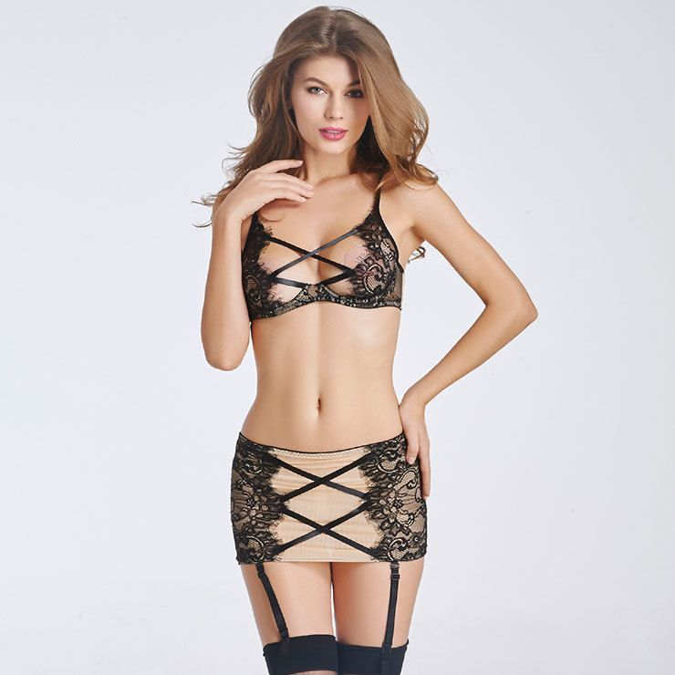 Ensemble Jupe Lingerie Sexy et HOT