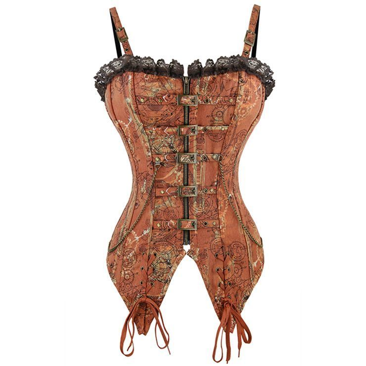 Corset Steampunk Style Sexy et Charmant