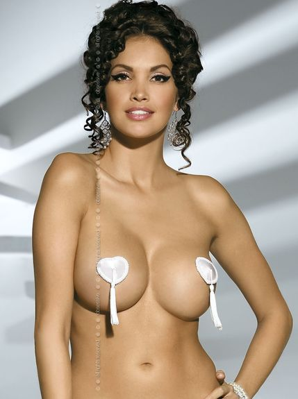 Cache tétons ou Nippies sexy Covers blanc