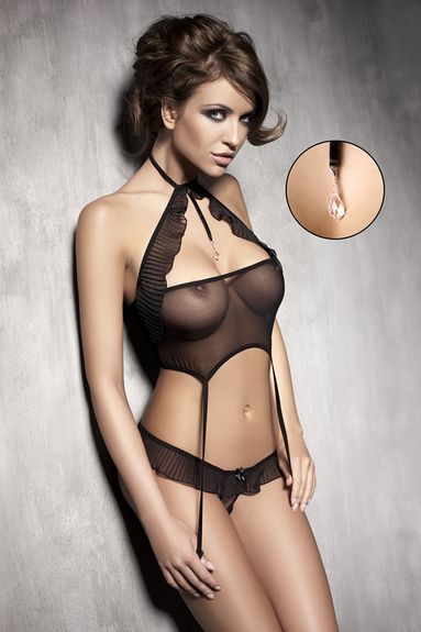 Ensemble lingerie Sexy en résille Spice up set