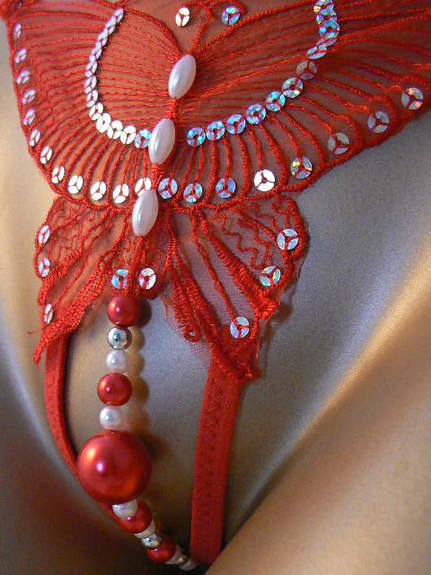 String perles intimes sexy