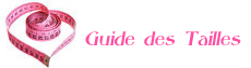 Guide de taille lingerie sexy, nuisette