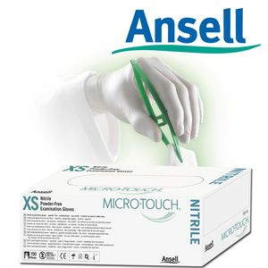 MICRO-TOUCH NITRILE BLUE