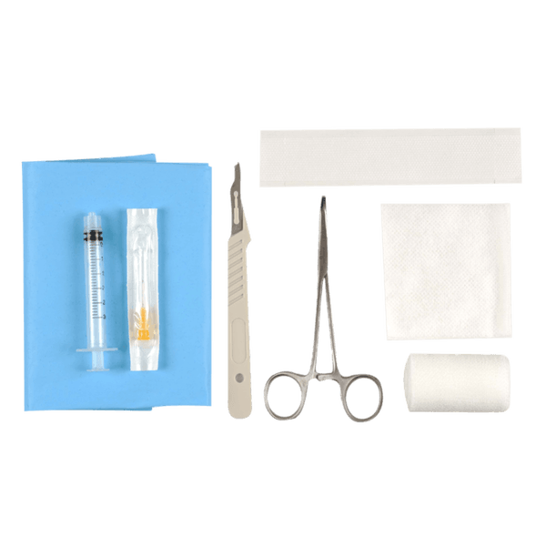 SET DE RETRAIT D'IMPLANT CONTRACEPTIF
