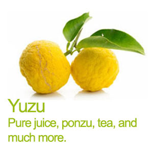 Yuzu pure juice and much more !