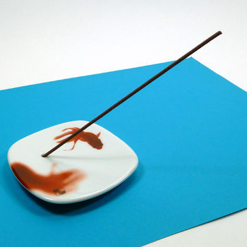 "Incense holder ""goldfish"""