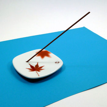 "Incense holder ""maple leaf"""